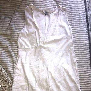 Tobi White Cotton Dress